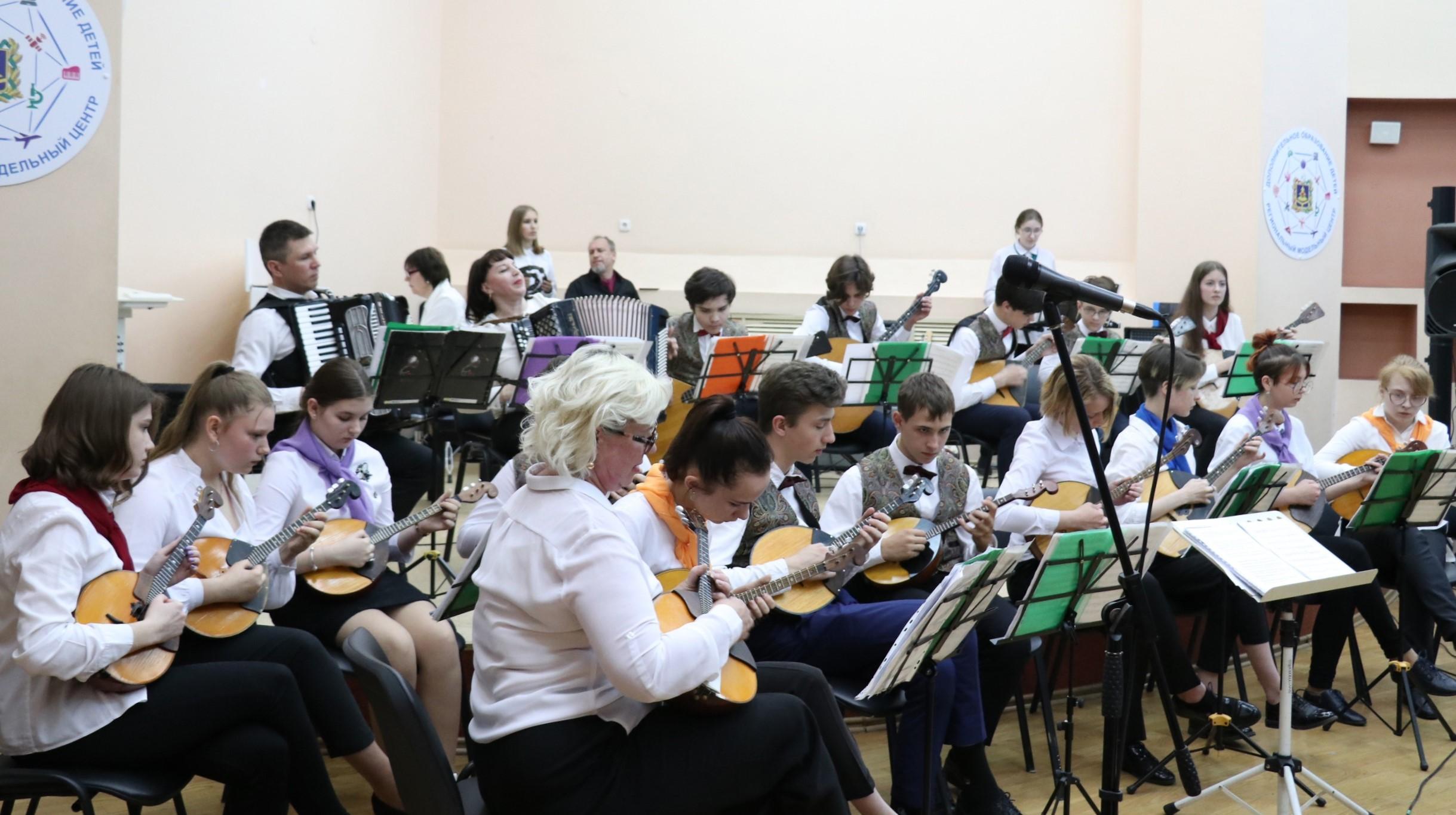 Отчетный концерт  Оркестра народных инструментов «Белый город»