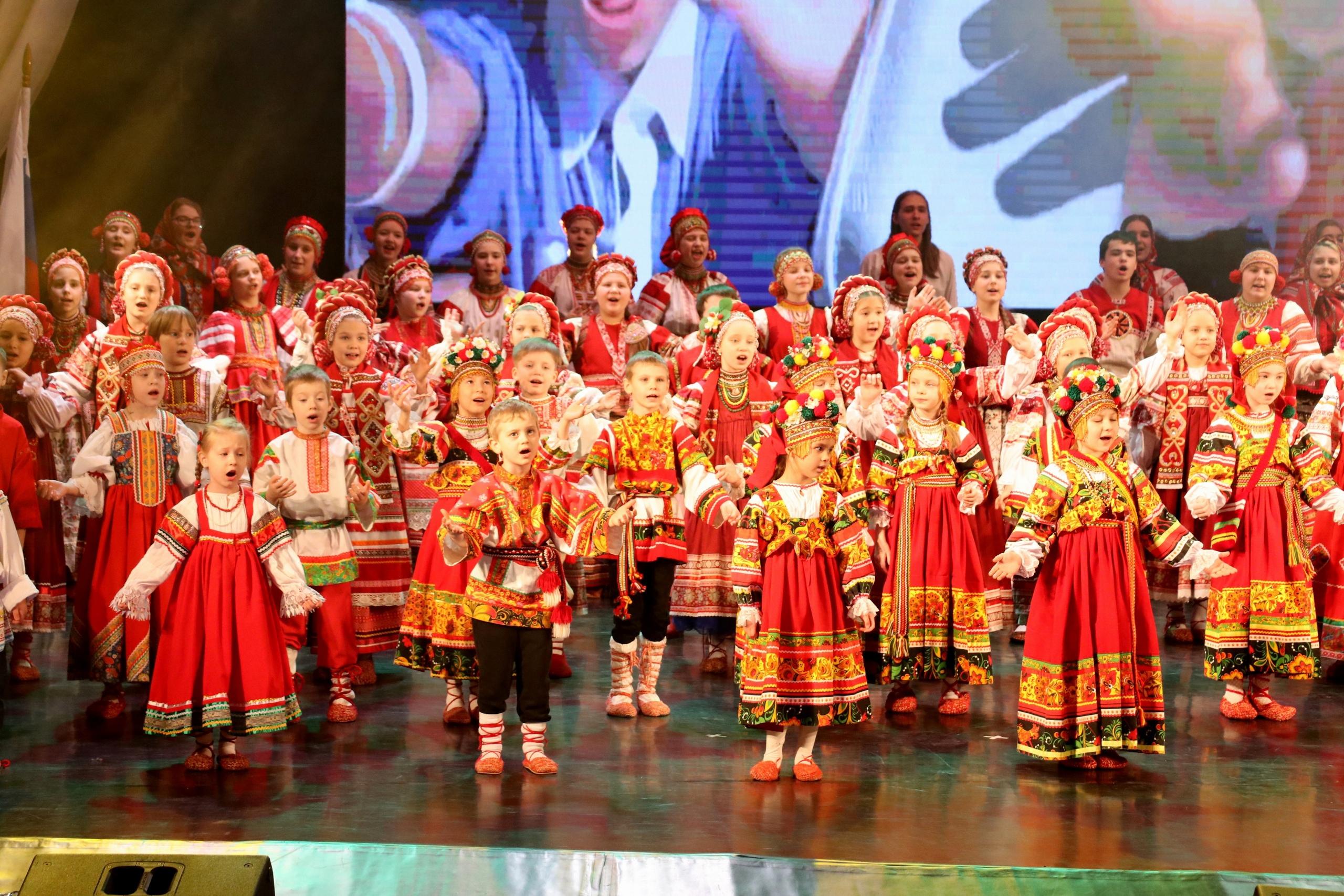 Отчетный концерт ДФШ «Калинушка»