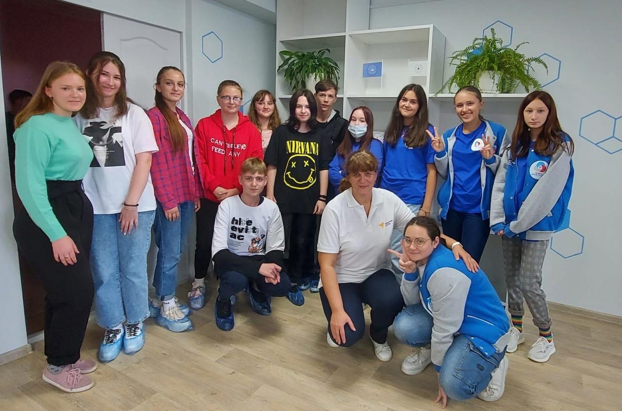 первая встреча обучающихся по программе «Вожатый РДШ»